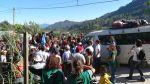 Présence lors de la libération de membres de la société civile de Barillas ©ACOGUATE 2013